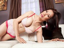 Kim Anh and her very big toy