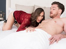 Lilly Copulates Her Son's Big-dicked Friend