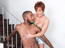 Ruby O'Connor's first bigger in size than run of the mill, dark-skinned cock