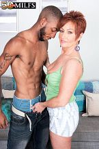 Young, darksome meat-thermometer for HORNY HOUSEWIFE Ruby O'Connor